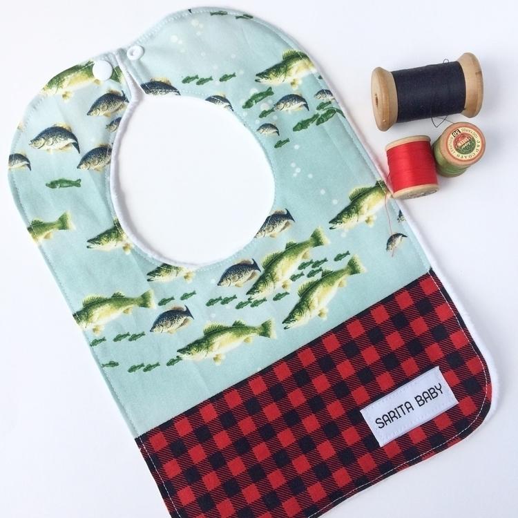 loving Walleye print paired Buf - saritababy | ello