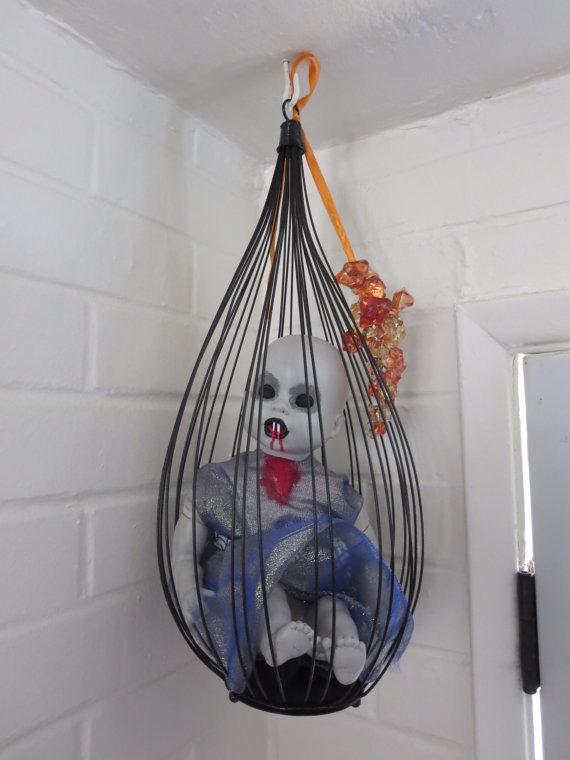hanging cage - vampirebaby, dollart - daisygamble | ello