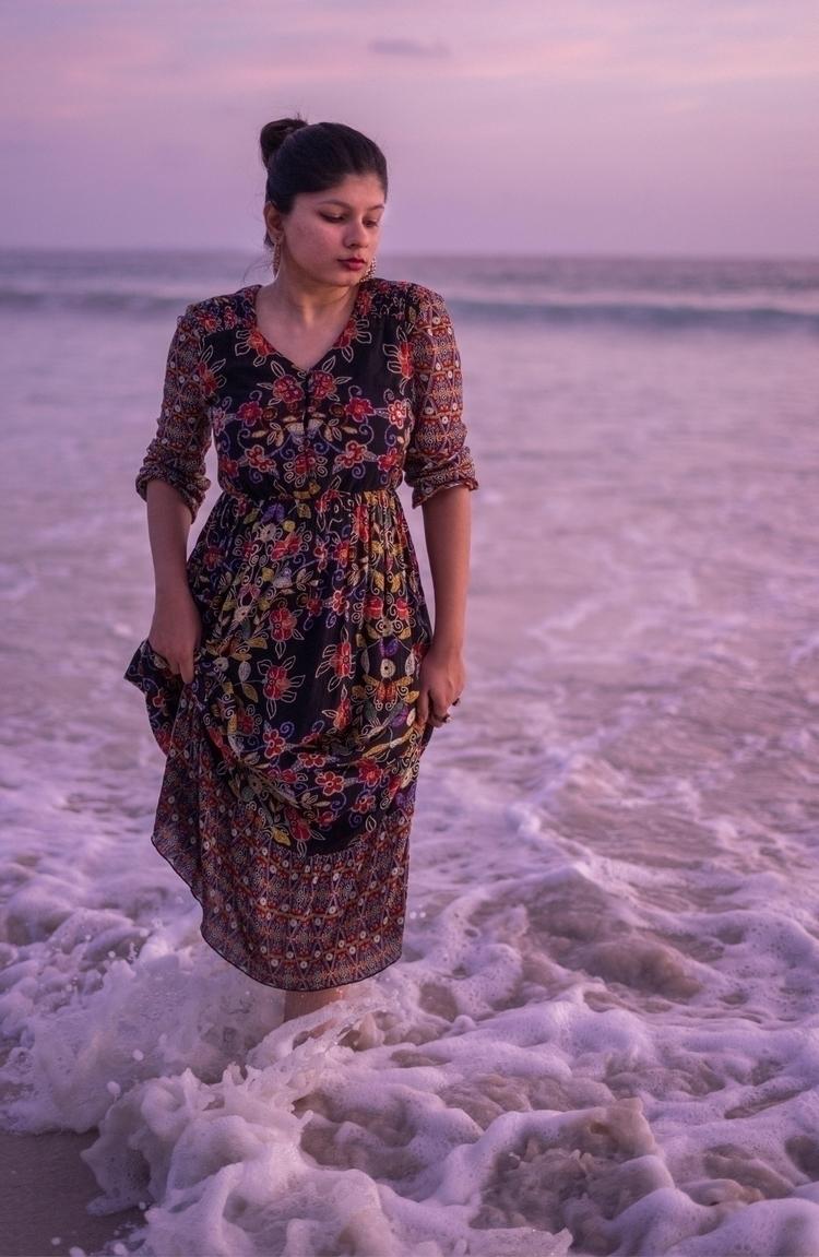 Andaman waves dress Trip island - aurpera | ello