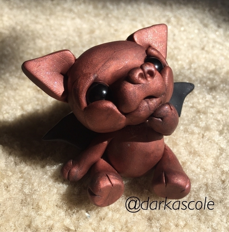 bronze baby enjoying bit sunshi - darkascole | ello