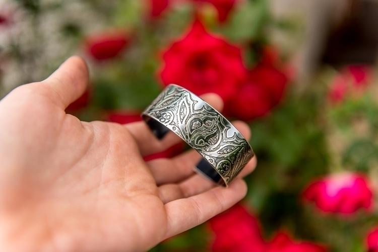 piece: sterling silver cuff etc - purplesulfurstudio | ello