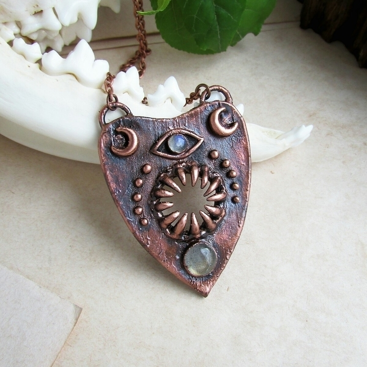 Planchette Necklace:ghost:Perfe - marrie_ko | ello