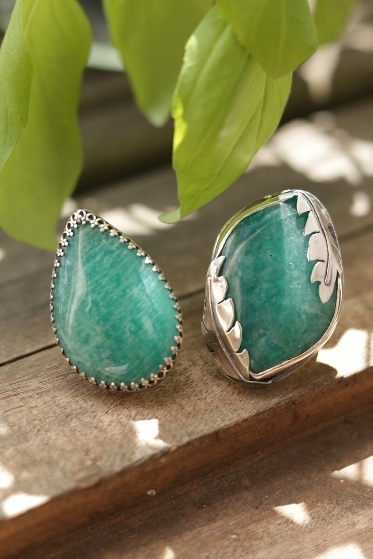 beauties, Amazonite sterling si - stardustmine | ello