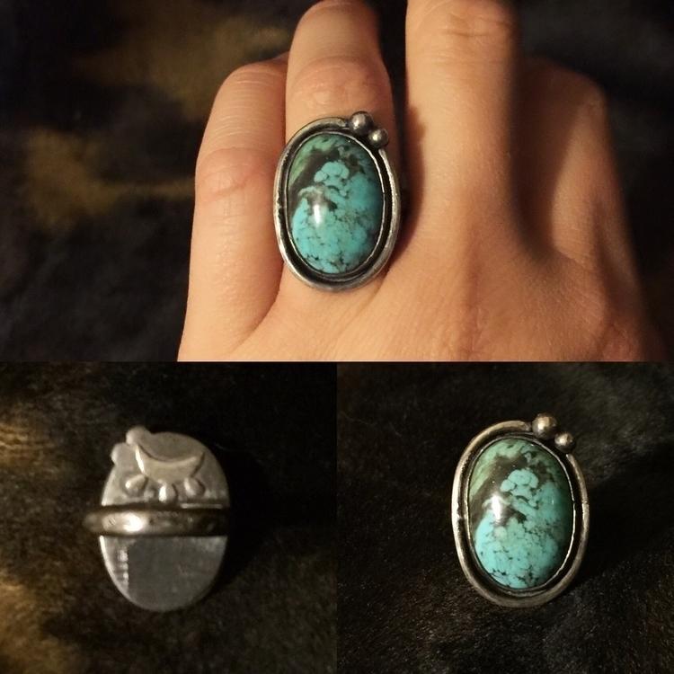 Sterling silver Kingman turquoi - stygianmetallurgy   ello
