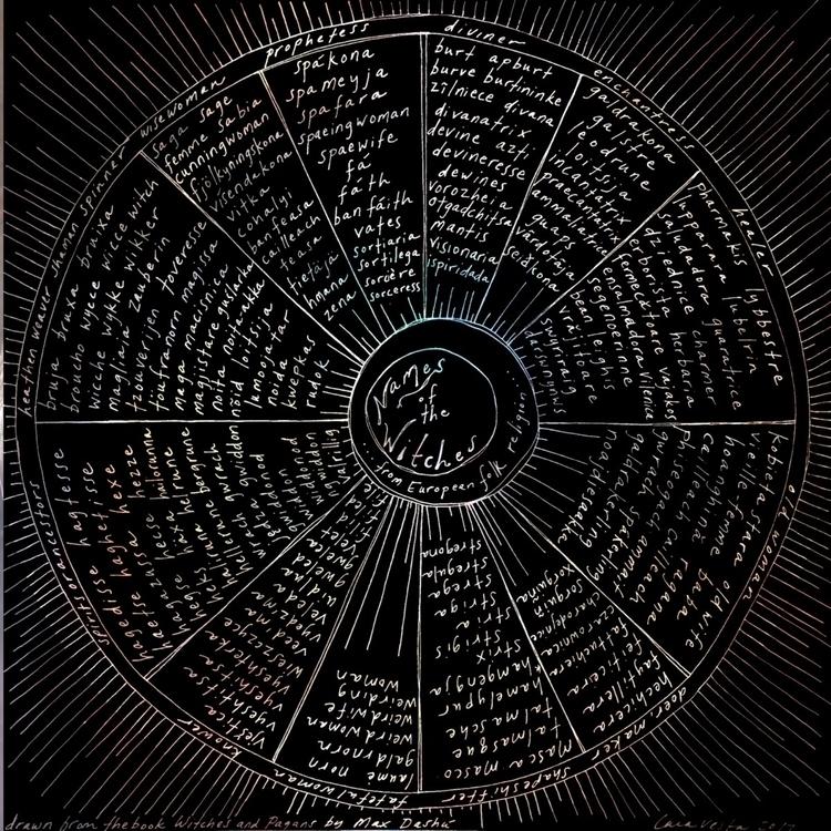 Names Witches illustration insp - veledavesta | ello