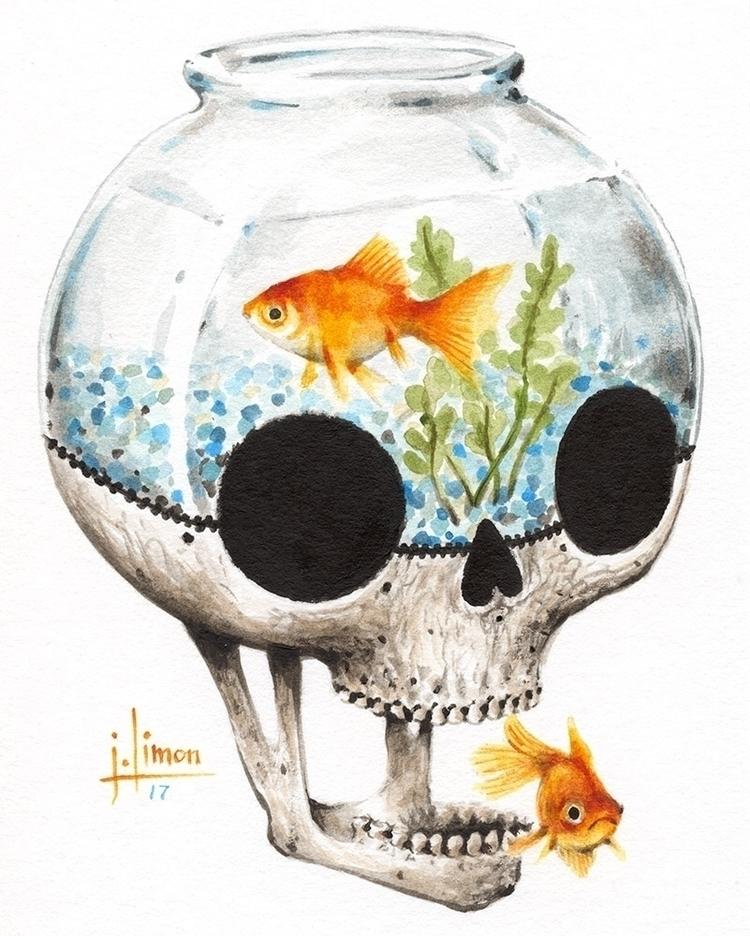 Fishbowl part - bonebanquet - jasonlimon | ello