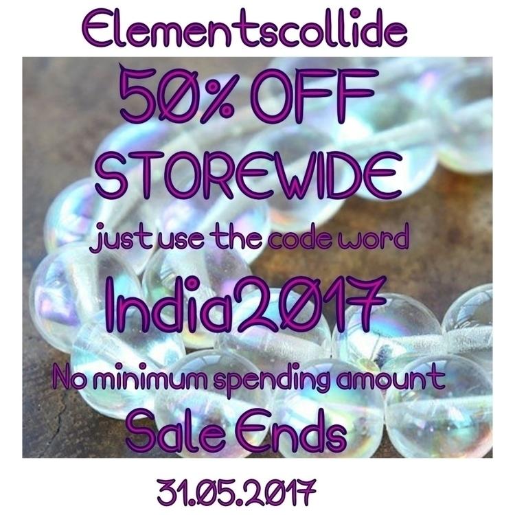 Hey Sweet souls!!! massive 50%  - elementscollide | ello