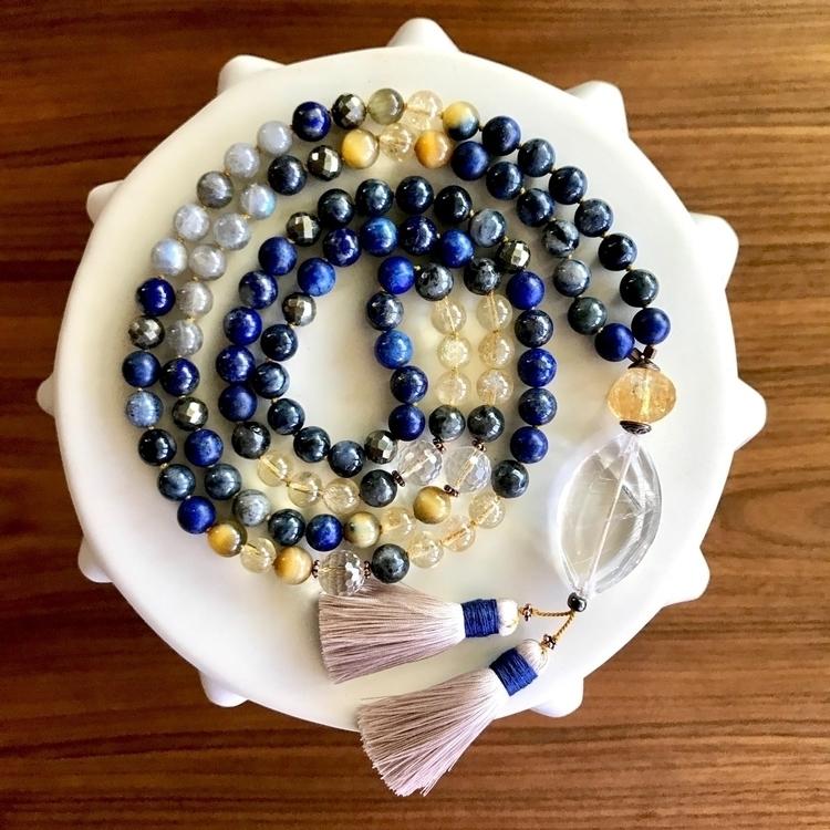 Athena Mala - Custom/sold piece - malamalamajewelry | ello