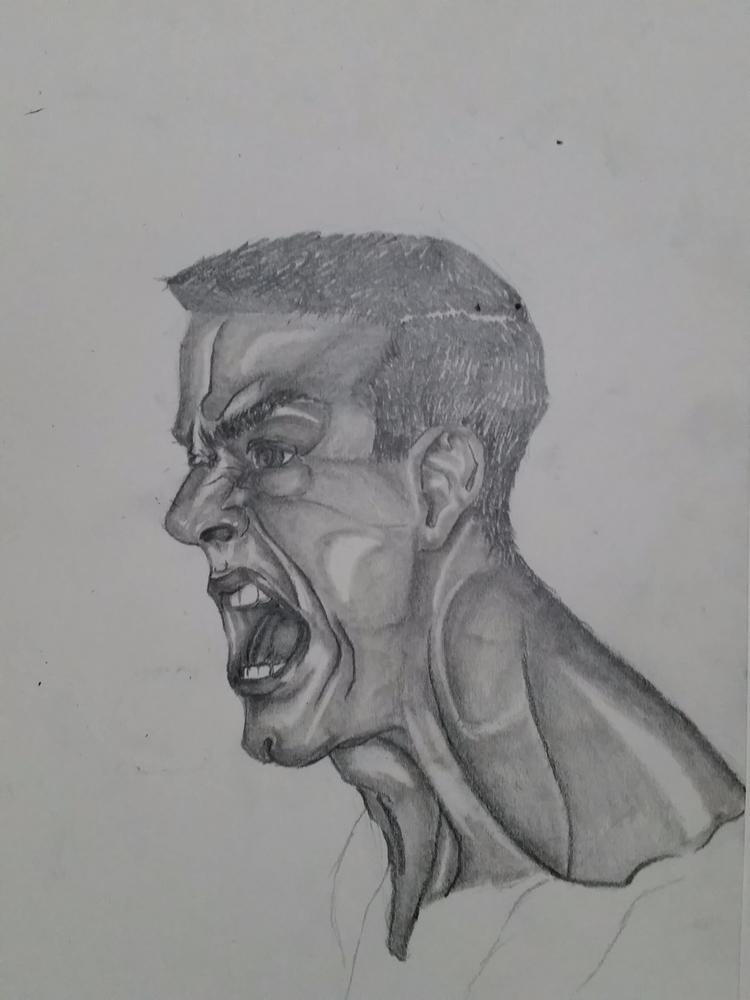 Henry Rollins - blackflag - phillipchamberlinart | ello