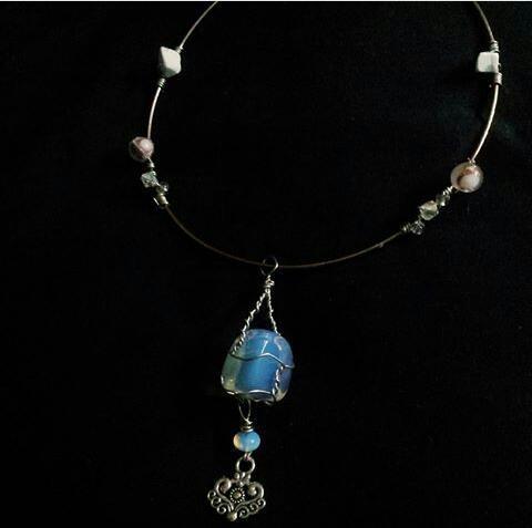 elegant silver choker ring wire - mintroyaleshop | ello