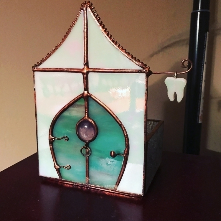 Tooth Fairy House kids box lost - wickedstainedglass | ello