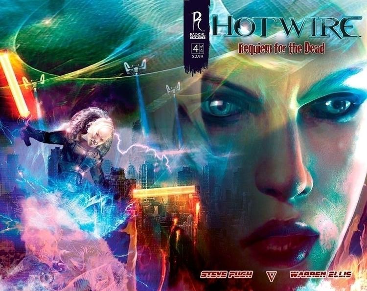 cover Hotwire - Radical Comics - alanbrooksart | ello