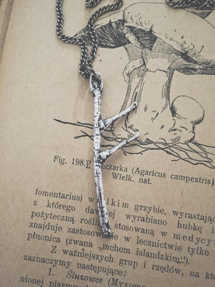 Silver Fehu rune pendant, entie - darkwoodjewelry | ello