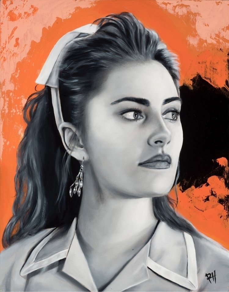 shellyjohnson, twinpeaks, oilpainting - robertheckman_art | ello