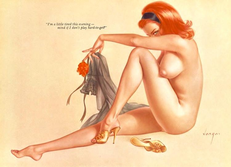 Vargas Girl Playboy 1963 girls  - playboycollection | ello