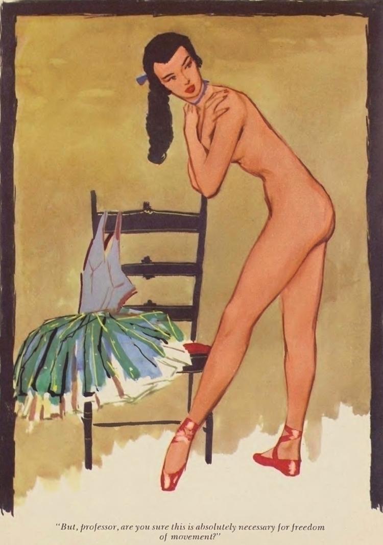 Playboy Cartoon, December 1954  - playboycollection | ello