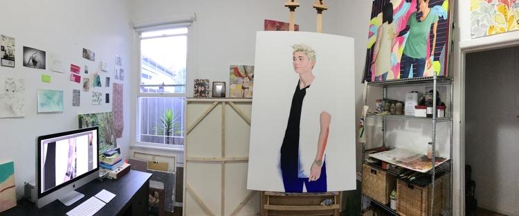 Studio shot painting progress!  - carlosbob | ello