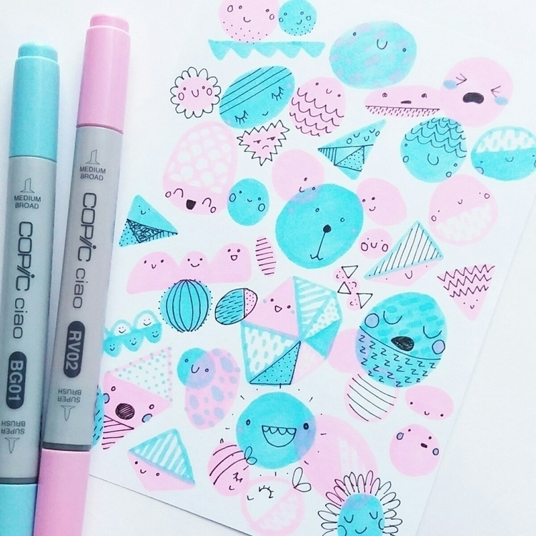 doodling life Ello account fill - leslieannemadeit | ello
