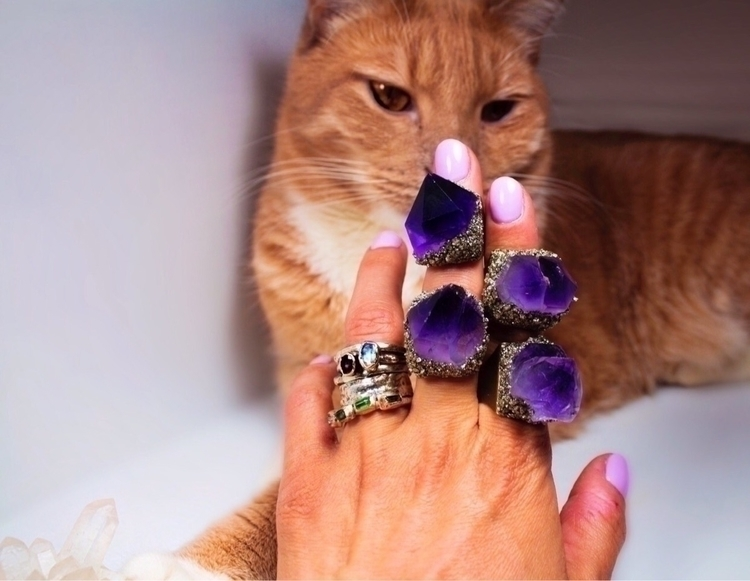 Deep Sleep rings  - gems, gemstones - gemsofbastet | ello