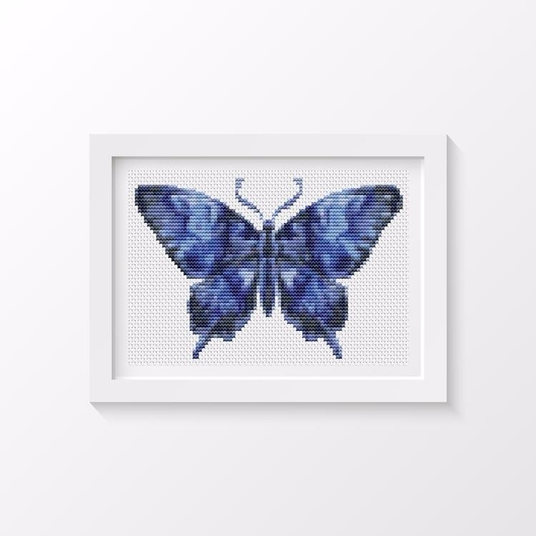 Butterfly Series: Dark Night MI - theartofstitch | ello