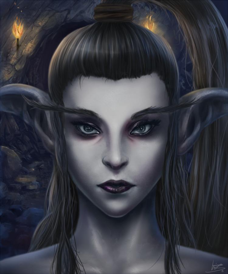Zhenta - Character illustration - malthus_wolf | ello