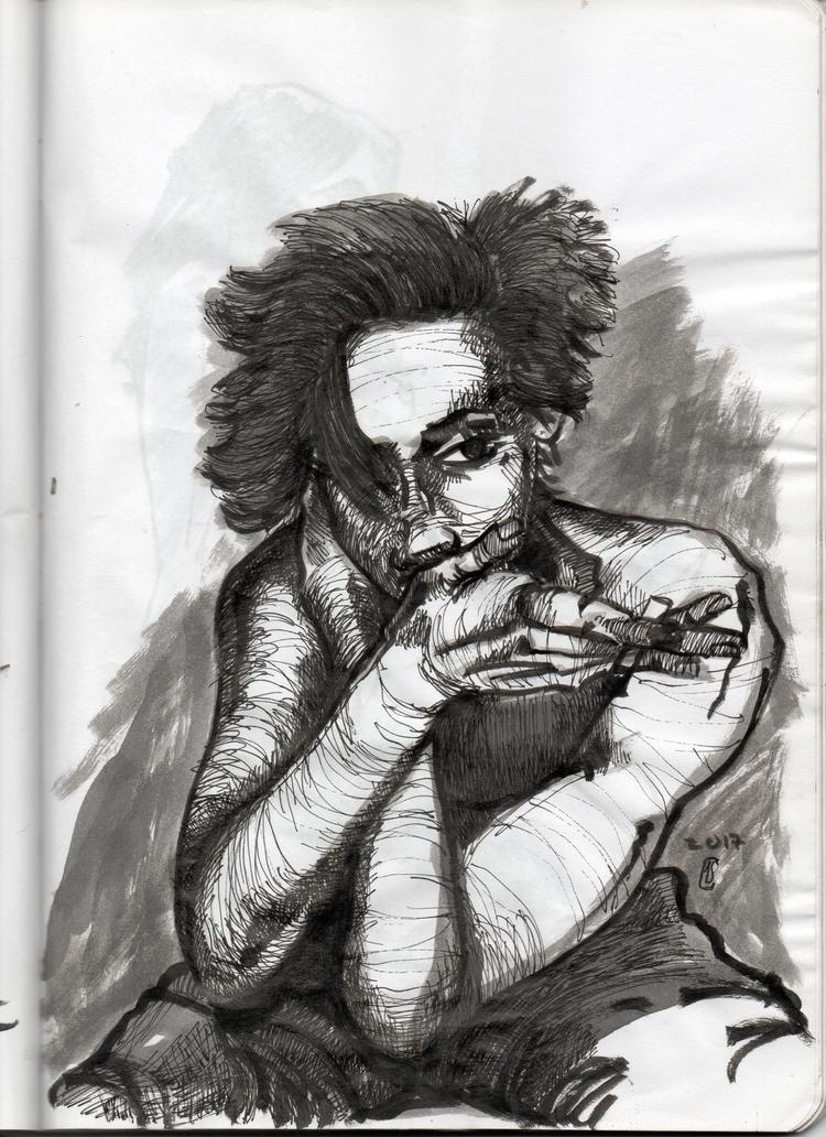 Brush Pen, Pen Ink study future - lcs-illustration | ello