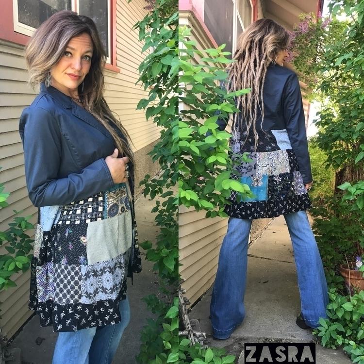 Eco recycled fabrics, patchwork - zasra | ello