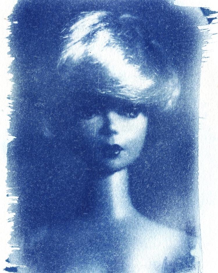 barbie cyanotype - art - megankoth   ello