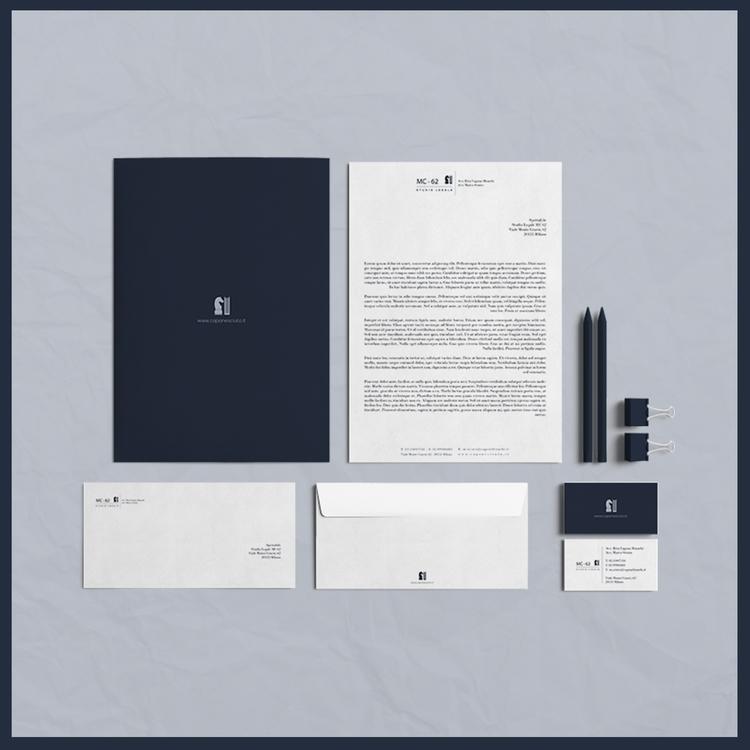 MC 62 - LAW OFFICE / Brand Iden - crismaartdesign | ello