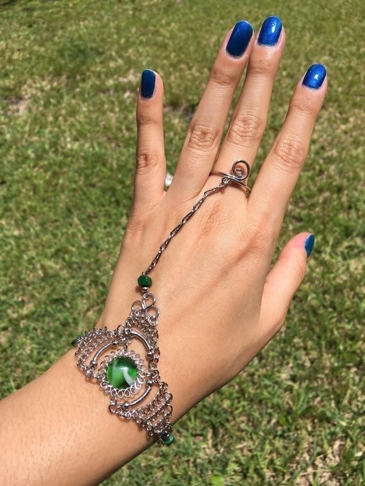 Glass gypsy ring bracelets - etsy - aljewelers | ello