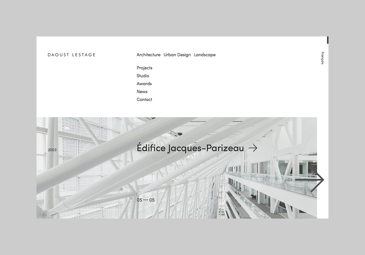 Website architectural firm Daou - northeastco | ello