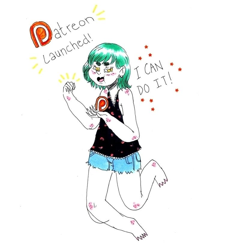 Patreon ! Link bio - patreon, artistonpatreon - skeenep | ello
