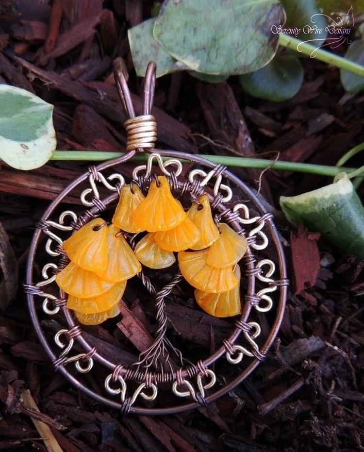 treeoflife, ginkgo, boho, bohojewelry - serenitywiredesigns | ello