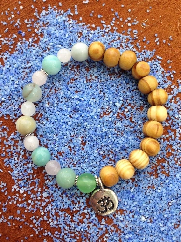 mermaid mala bracelet soothing  - bohoelementsdesigns | ello