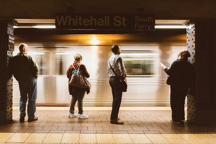 streetphotography, nyc, subway - debbarak | ello