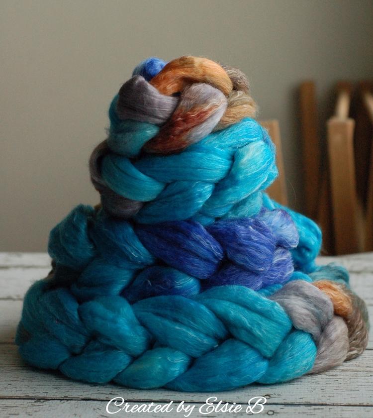 Jewel' Merino/Tencel- 5 braids  - createdbyelsieb | ello