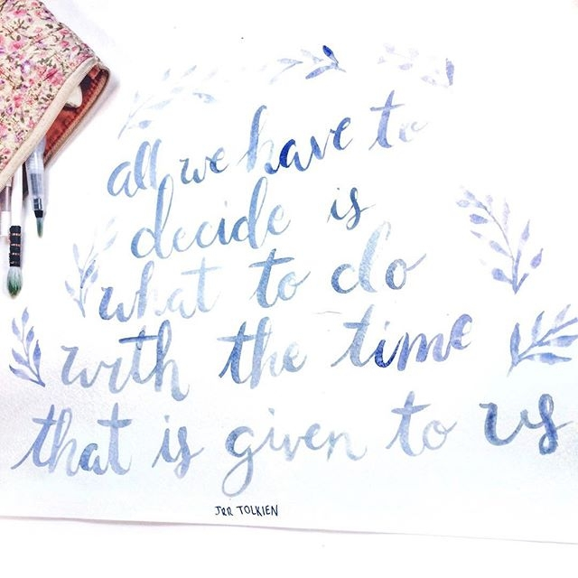 * watercolor thoughts long week - ekatearcher | ello