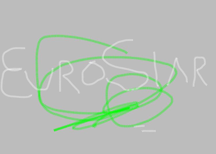 Eurostar - Font, Experimental, Graphic - marcomariosimonetti | ello