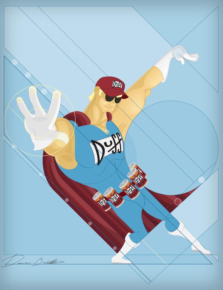 Narcissism Denial 03 Duff Man - beer - donavonmadethat | ello