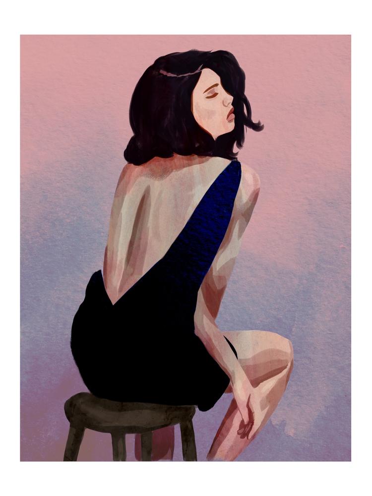 Daily Drawing - fashionillustration - cariguevara | ello