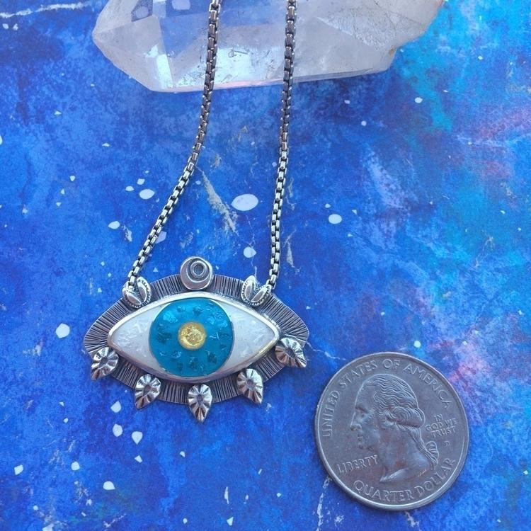 Good juju energy eye amulet - goodvibes - julieglassmanjewelry | ello