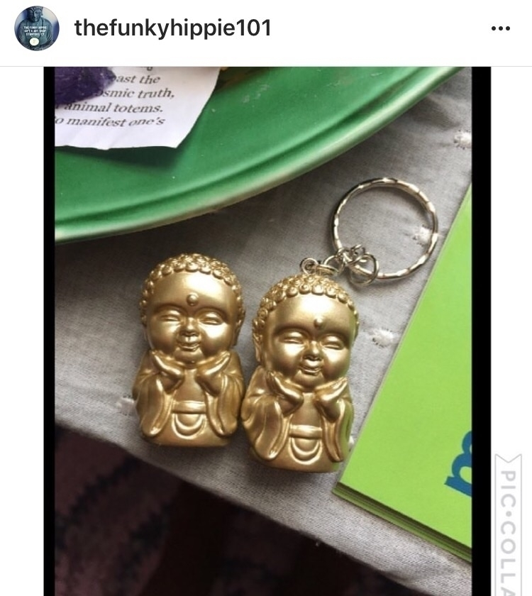 Buddha, happiness, golden, supportthehandmadehustle - thefunkyhippie | ello
