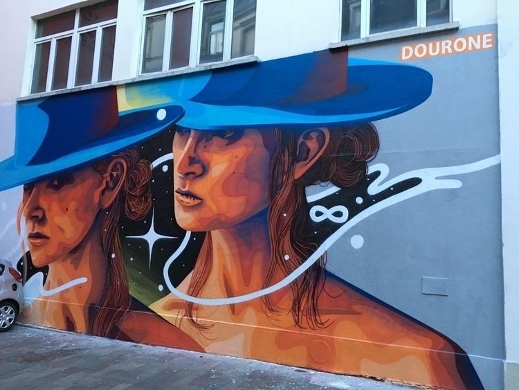 streetart, lemur, wall, mulhouse - webcreators | ello