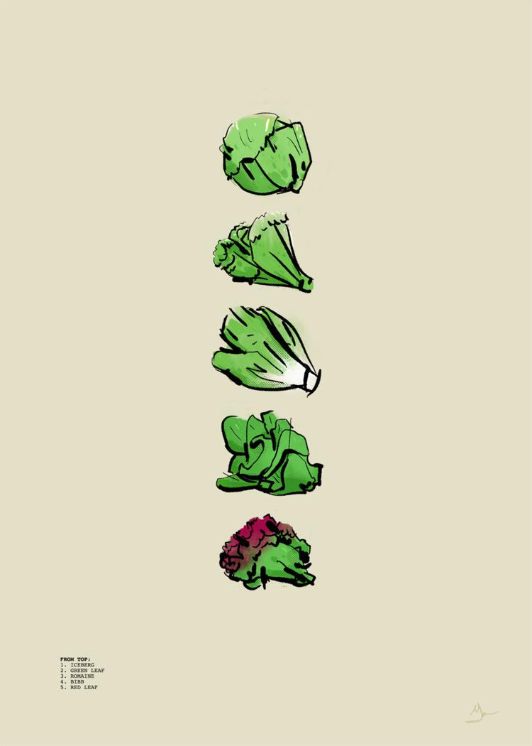 Fan Art Friday 20: Lettuce frea - maljones | ello