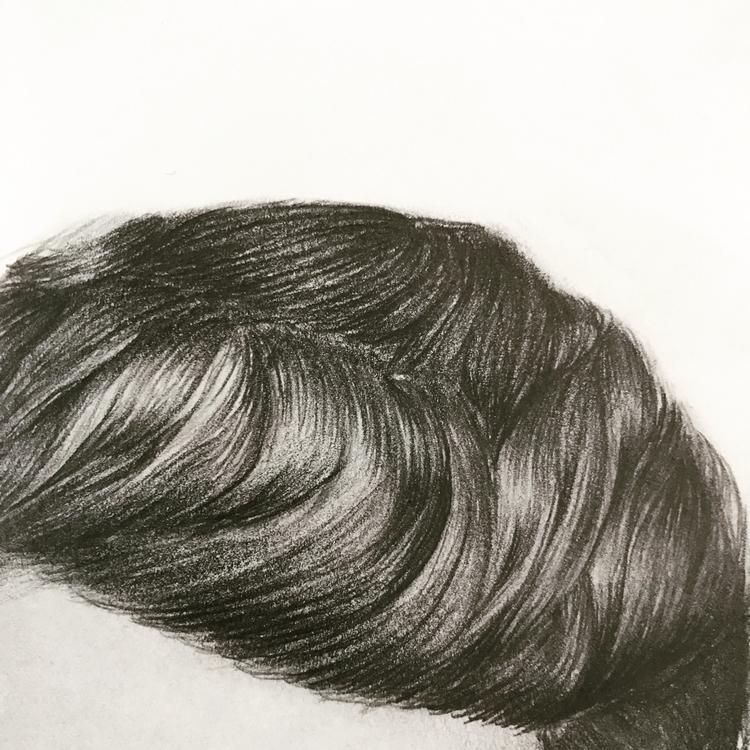Drawing hair favorite - art, sketch - garvoids | ello