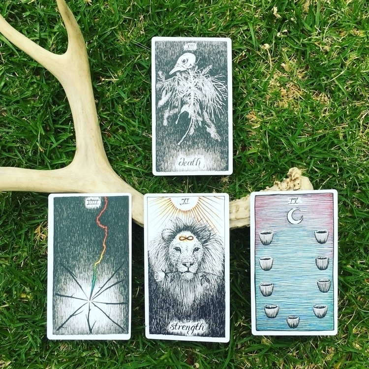 cards lie - thewildunknown, tarotreading - the7directions | ello