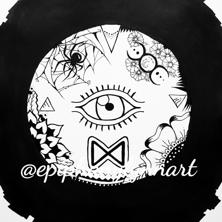 **Awakening - ink, inkart, runes - epiart | ello