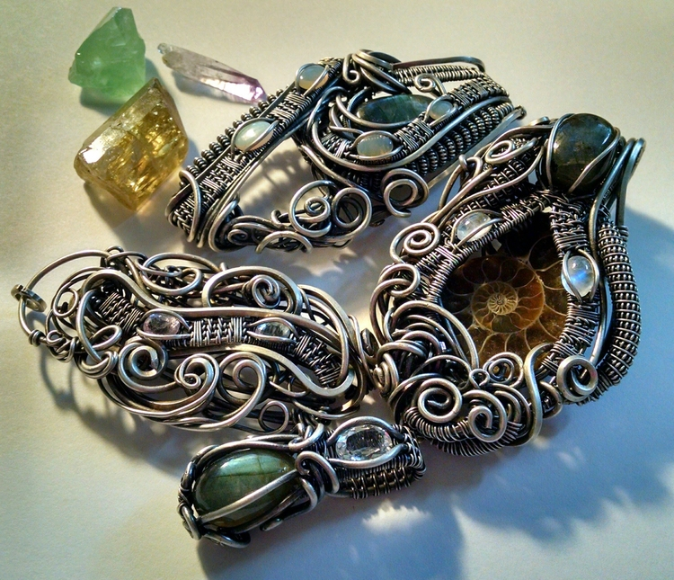 Silver favorite metal work eleg - sierratreasurehunter | ello