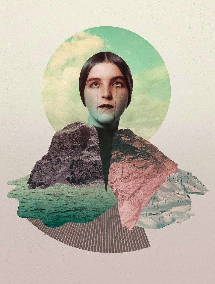 Deafening Silence (2017 - collage - julienp | ello