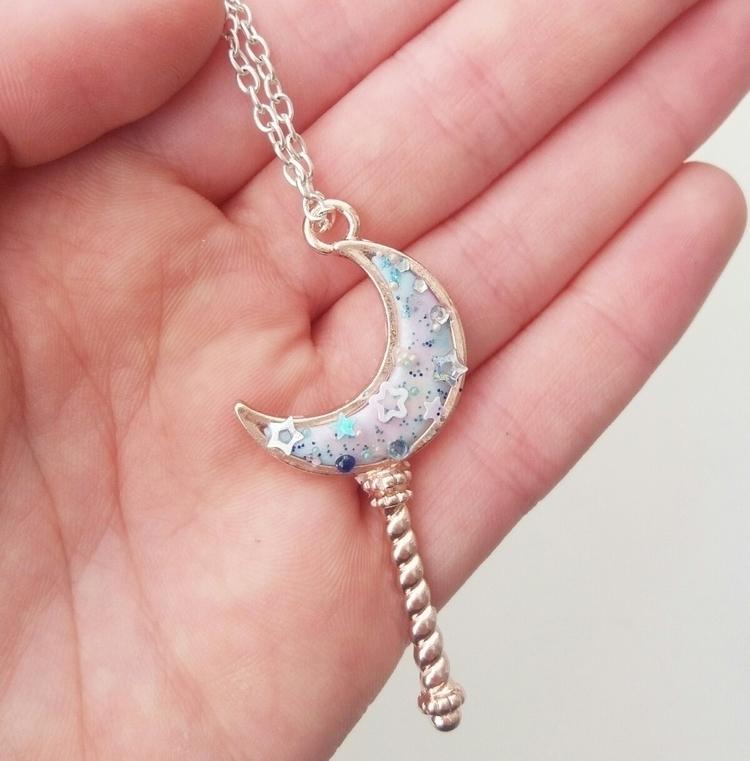 necklace polymer clay:smile: ro - artbyhan13 | ello